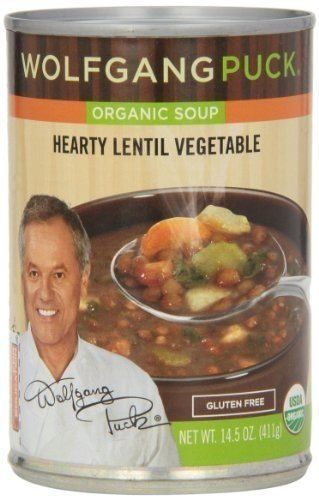 Wolfgang Puck Organic Thick Hearty Lentil Vegetable Soup ...