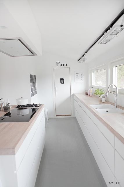 Resultado de imagen de cocina nórdica blanca