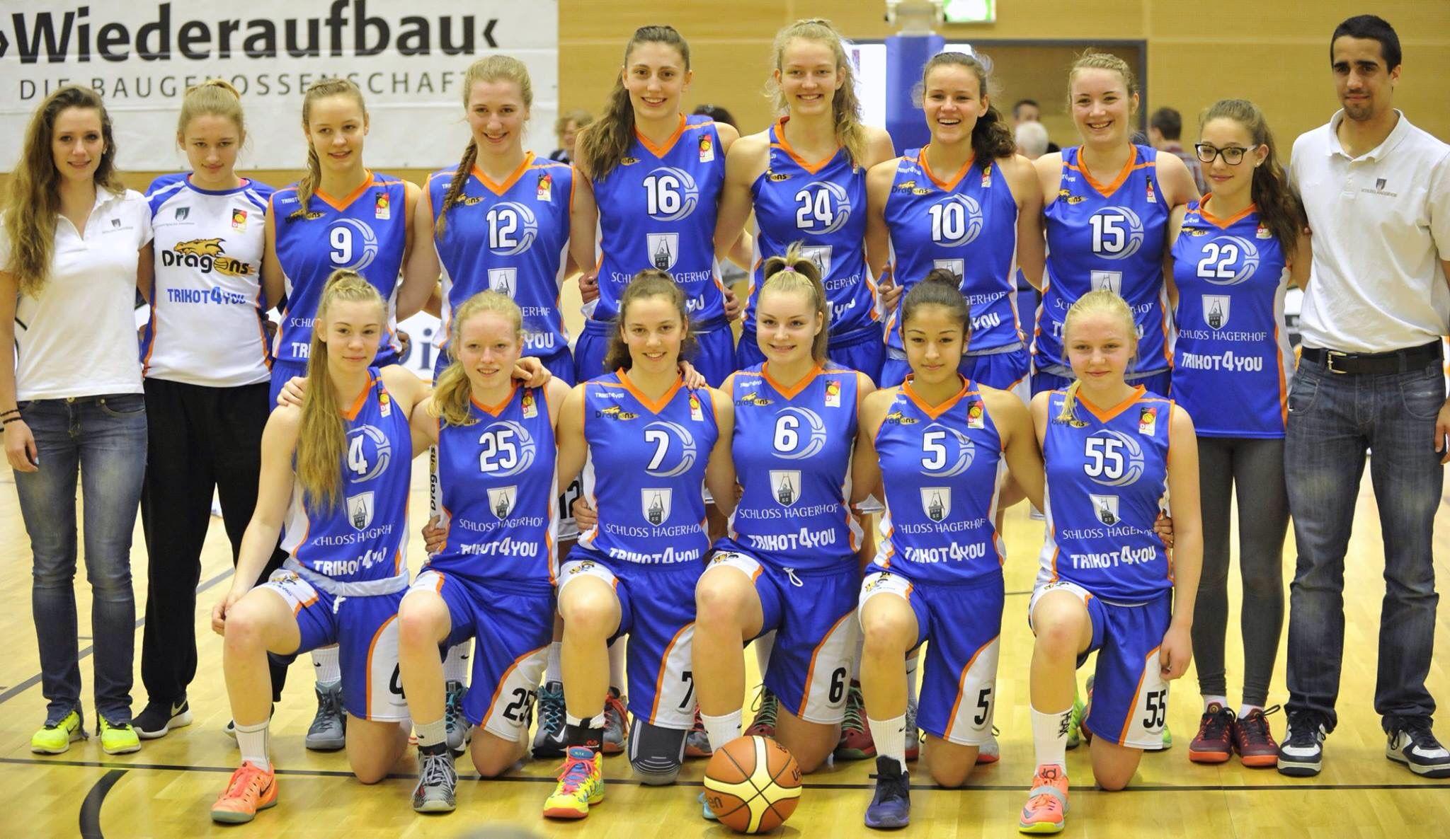 Dragons Rhöndorf kämpfen um den deutschen Meistertitel