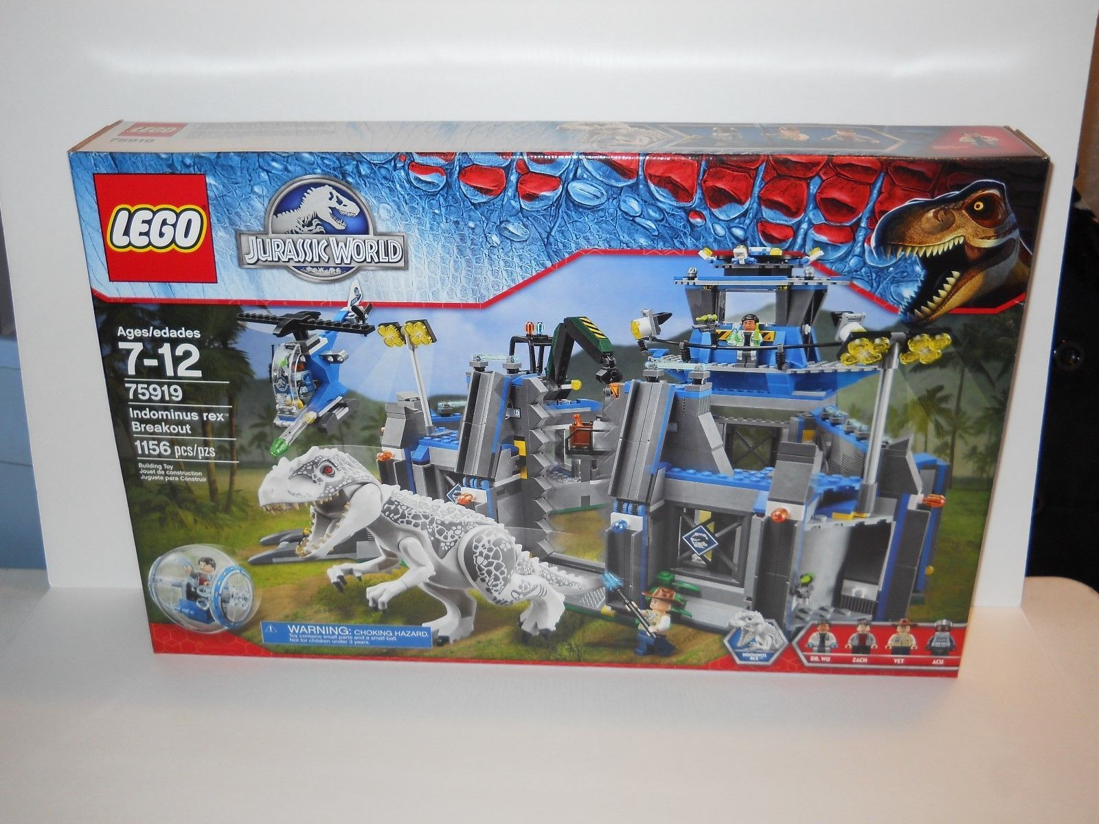 LEGO SET 75919 JURASSIC WORLD INDOMINUS REX BREAKOUT