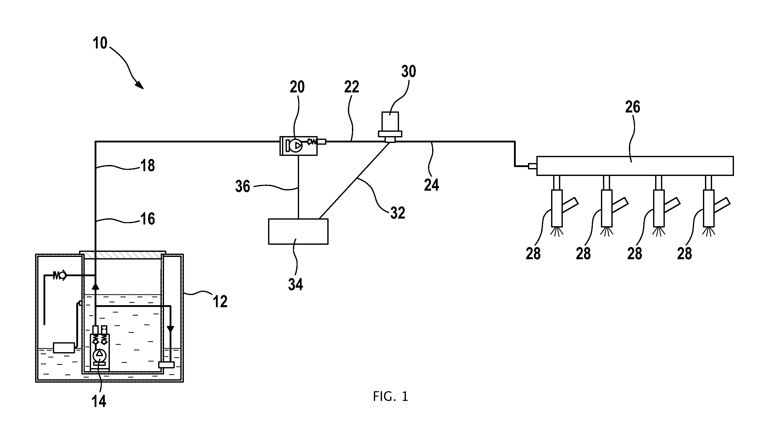 hight resolution of wo2012089364a1 fuel supply system of an internal combustion engine with direct fuel injection