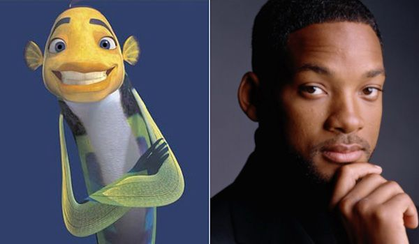Will Smith and Oscar (Shark Tale)