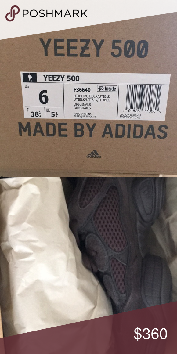 8ddd5d1fc1ec0 Yeezy 500 Brand new with tag Yeezy 500 from adidas online store. Yeezy  Shoes Sneakers