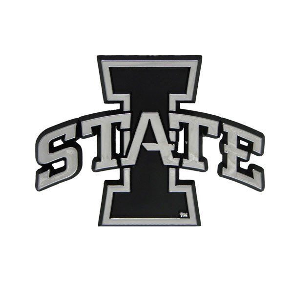 Iowa State Cyclones Silver Auto Emblem With Images Car Emblem