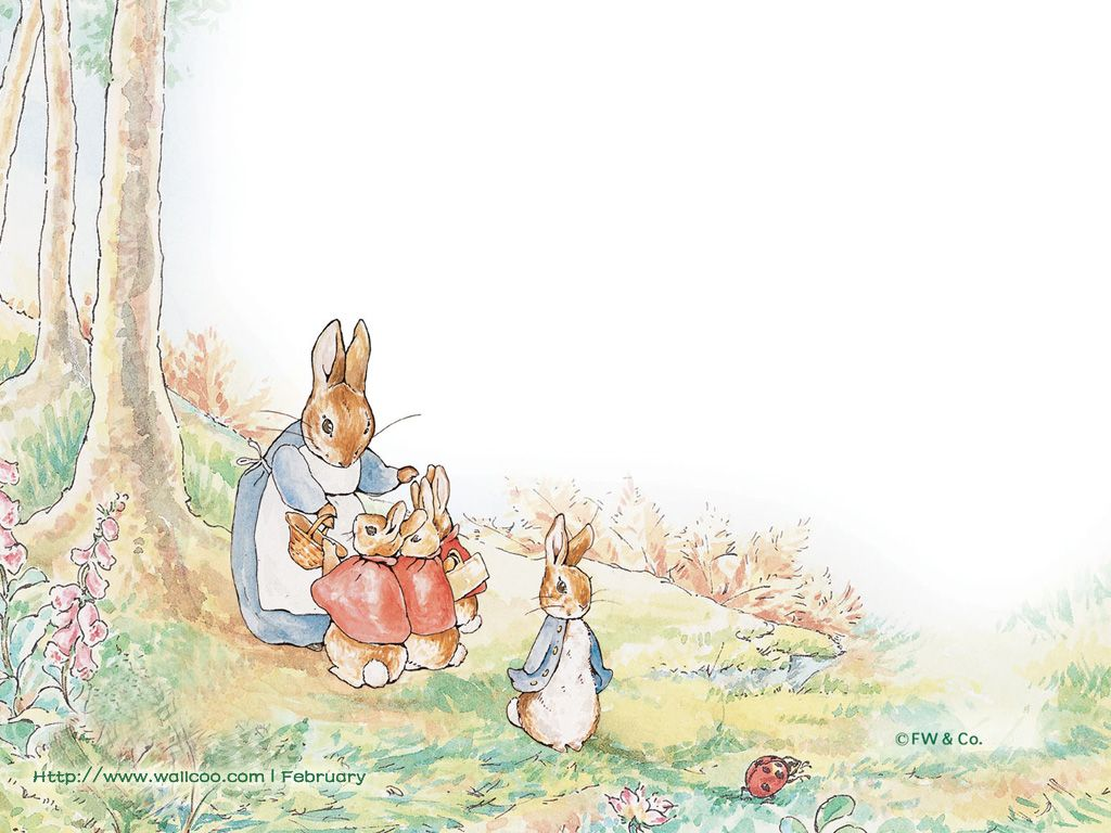 The Tales of Beatrix Potter Fabric by Jane Churchill | Jane Clayton