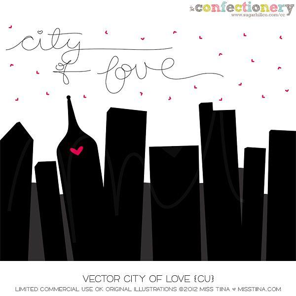 SHCO Confectionery - CU - Vectors - Vector City of Love {CU} --EXCLUSIVE-- Join at http://www.sugarhillco.com/cc