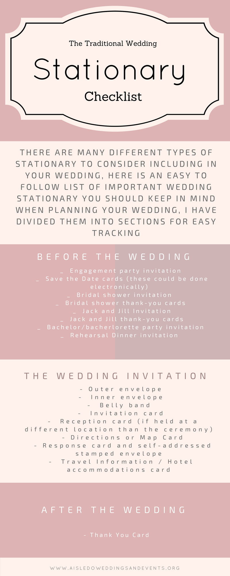 Traditional Wedding Stationary Checklist Png 800 2000
