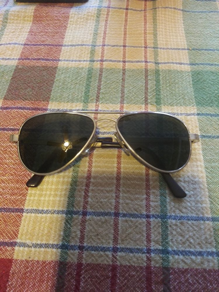 1e4507ff7a Vintage France Pilot Aviator Sunglasses 14K 20 000 Frame Youth Size   fashion  clothing