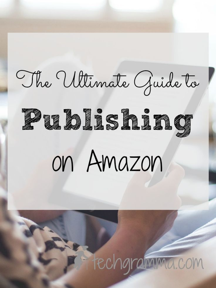 Publishing on Amazon helps writers build credibility and