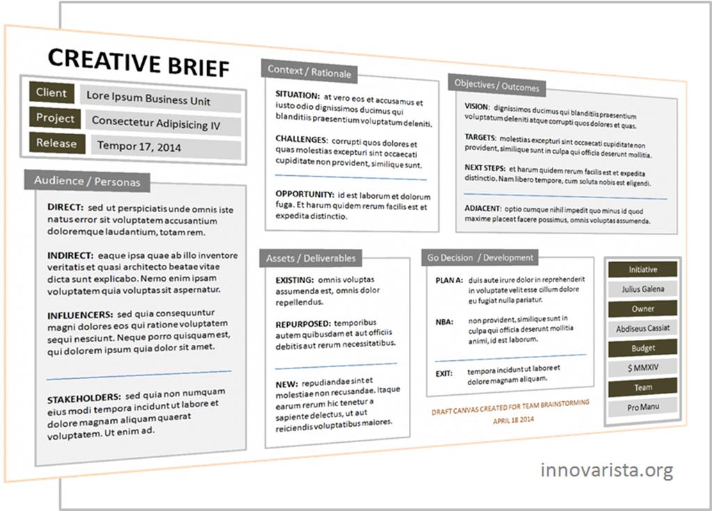 Marketing Creative Brief  Google Search  Marketing Forms