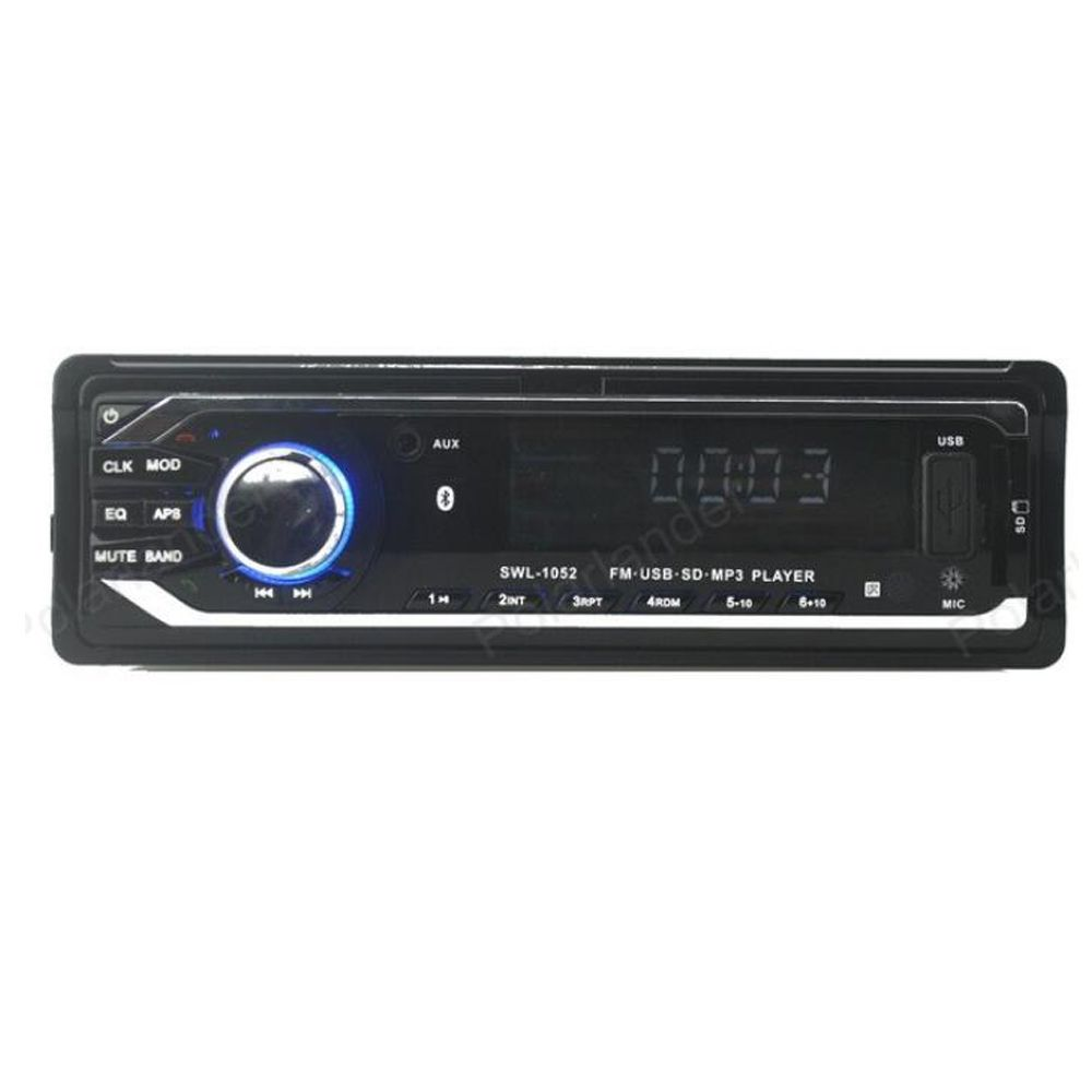 Free Shipping 12v Car Radio Stereo Bluetooth Function In Dash Mp3