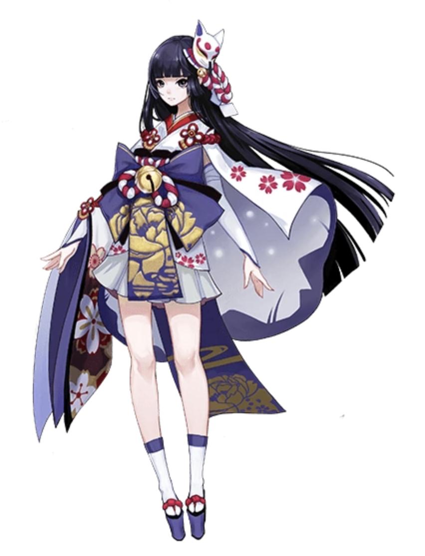 Yuki Onna skin in 2020 Anime kimono, Yuki onna