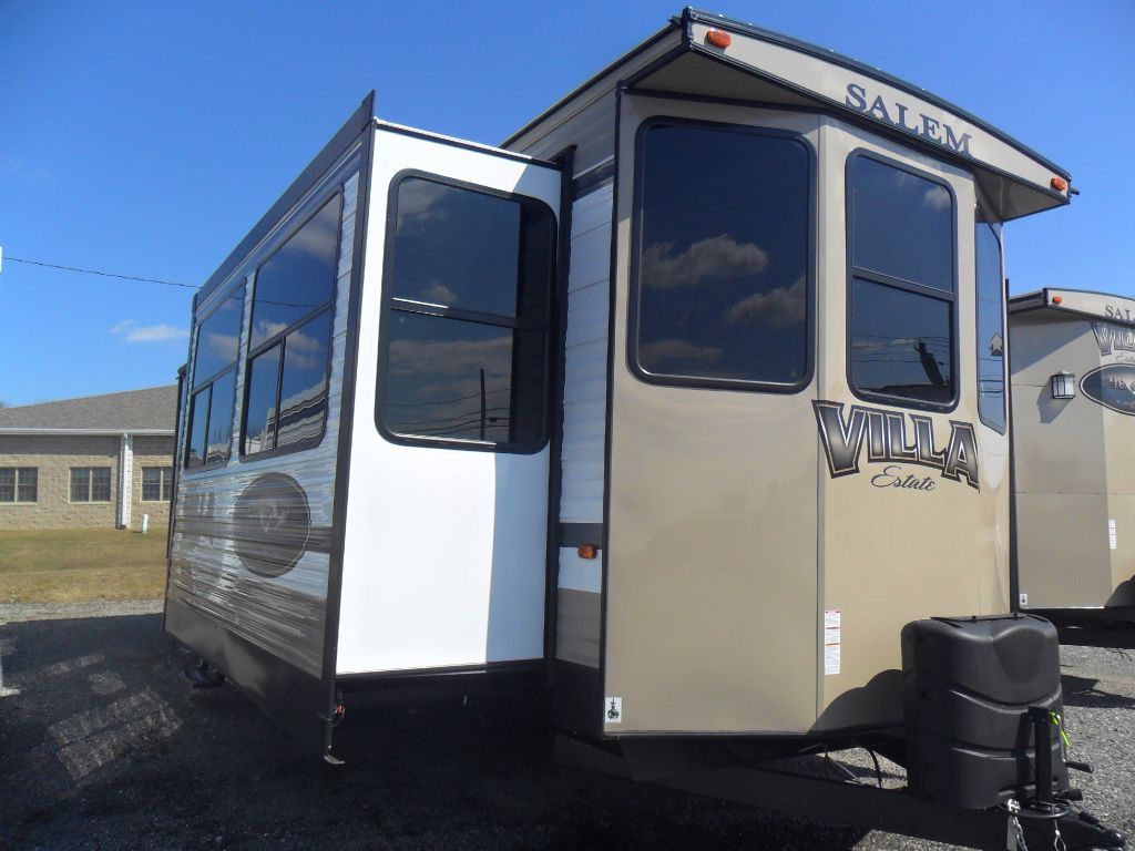New 2015 Forest River RV Salem Villa Series 385FLBH Estate