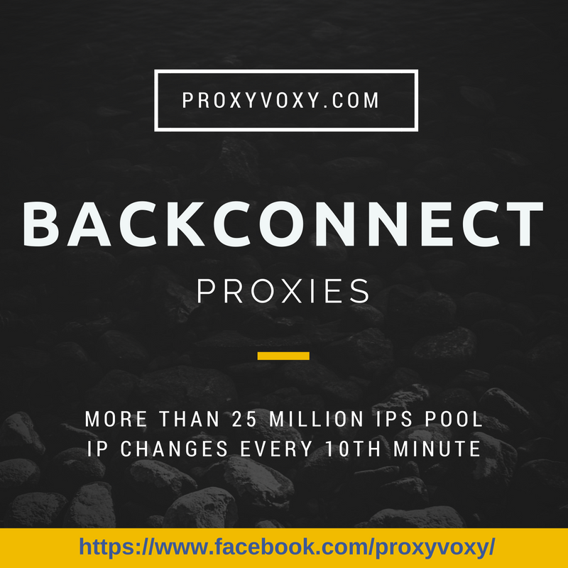 Cheap Backconnect Proxy Service With More Than 25 Million Ips With