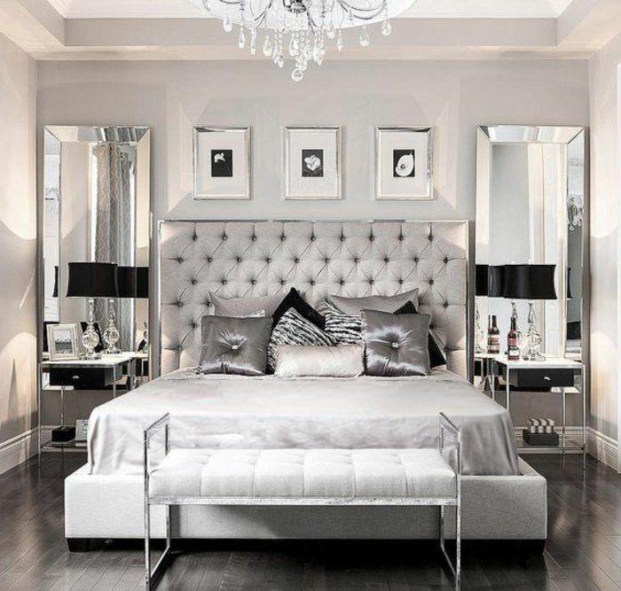 1001 Ideen In Der Farbe Perlgrau Zum Inspirieren Schlafzimmer Design Zimmer Luxusschlafzimmer