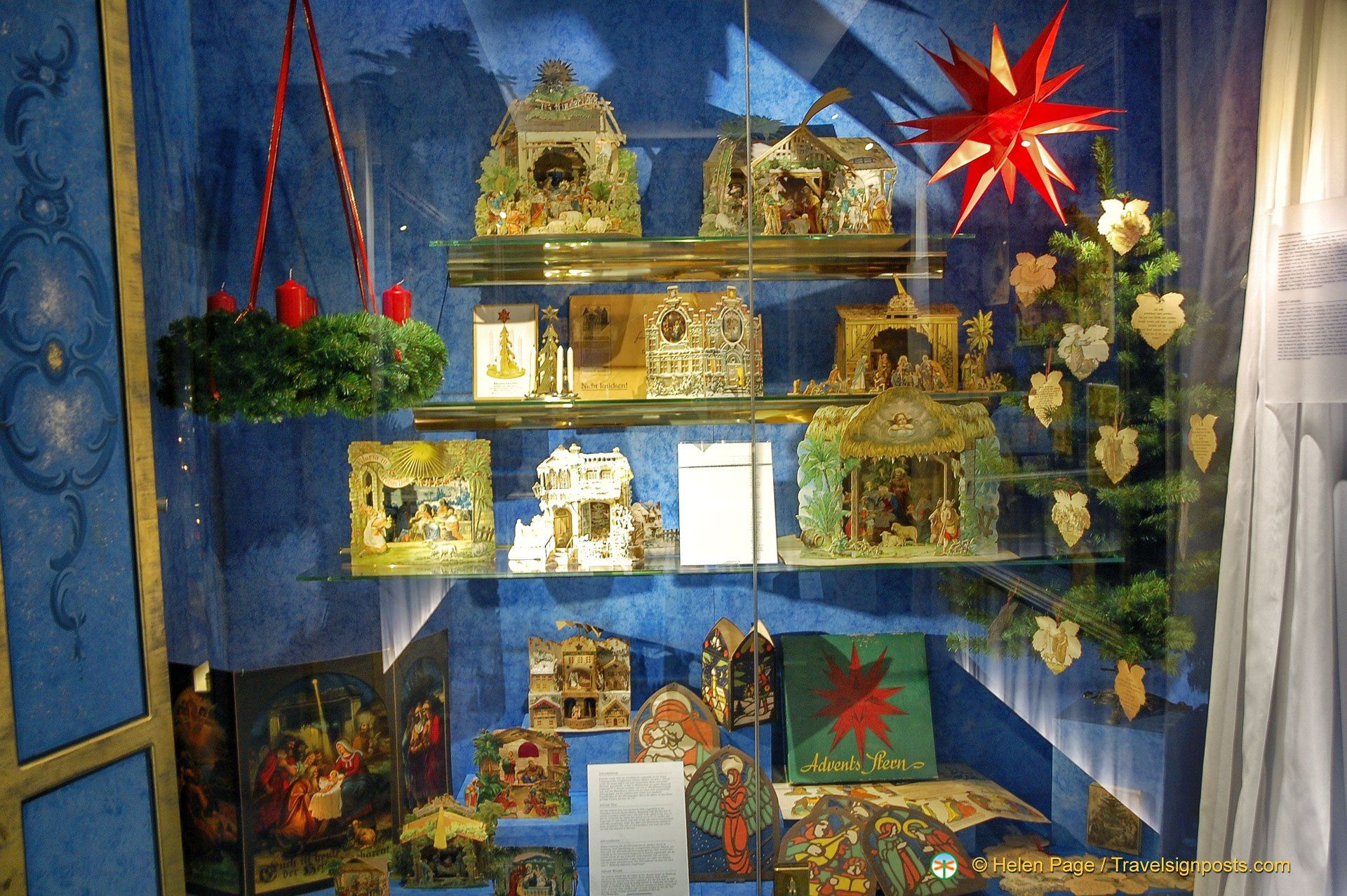 The evolution of nativity scenes at the Deutsches Weihnachtsmuseum in Rothenburg ob der Tauber