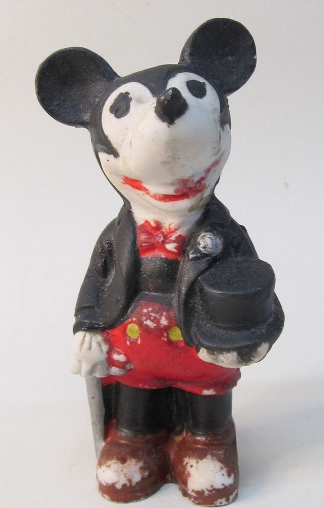 Mickey Mouse Groom Bisque (1930's)