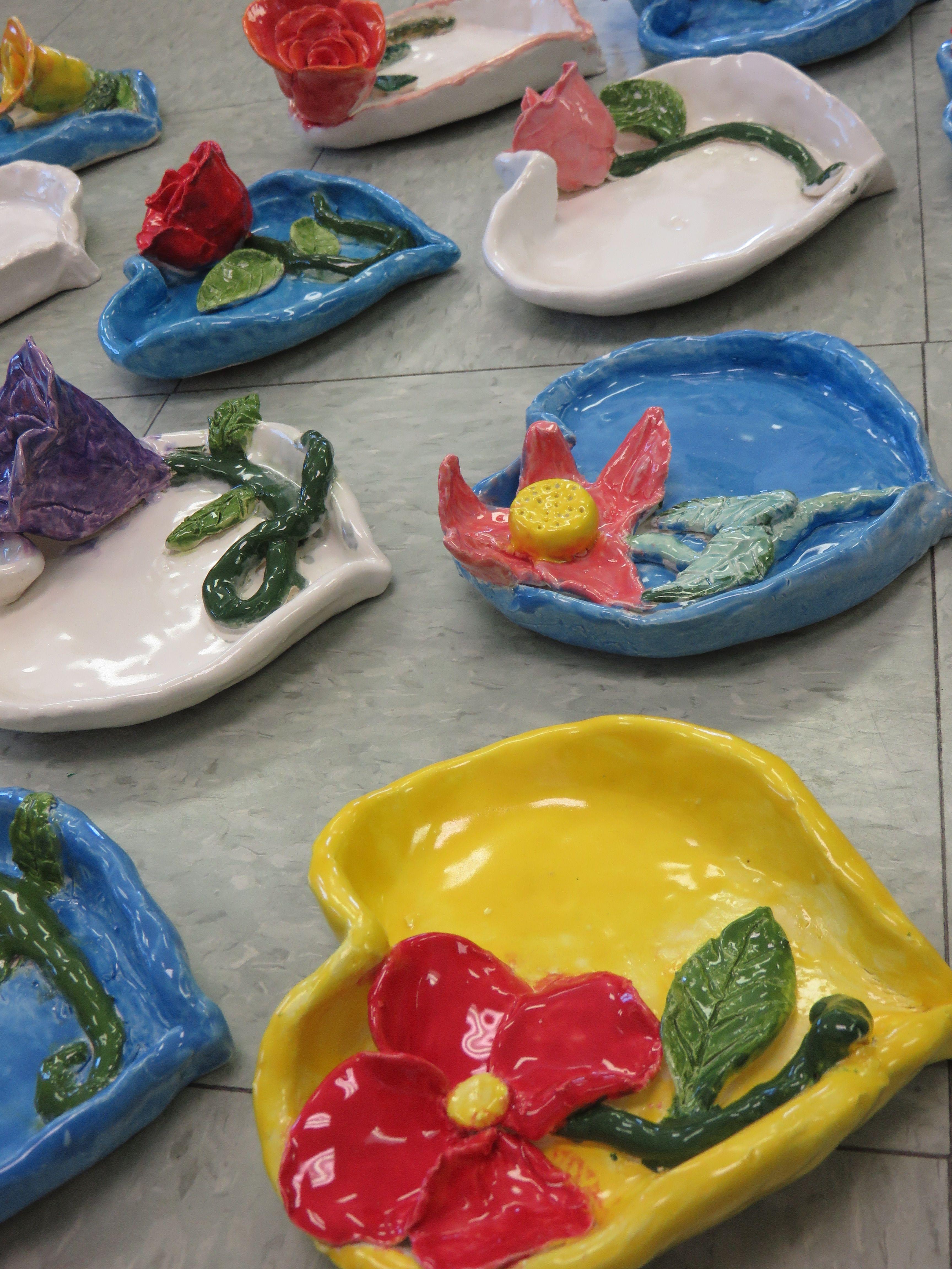 Steiner Ranch Elementary 4th grader ceramic heart shaped ...