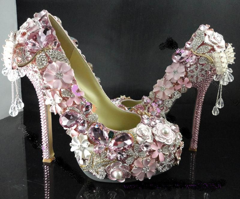 Bling bling wedding shoes  425  4db43fd79d8d