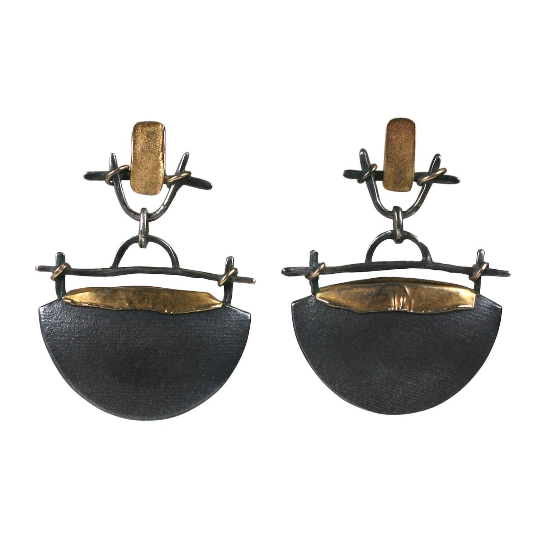 Catherine Morris Bach Urn Earrings