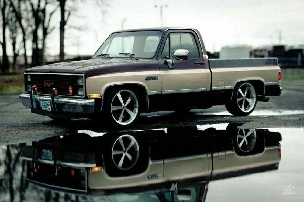 Ad 1985 Gmc C15 1985 Gmc Sierra Classic Hot Rod Shop Swb Patina