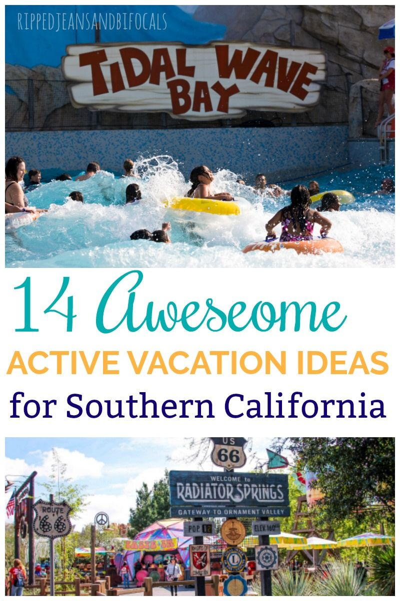 active vacation ideas for southern california   socal travel