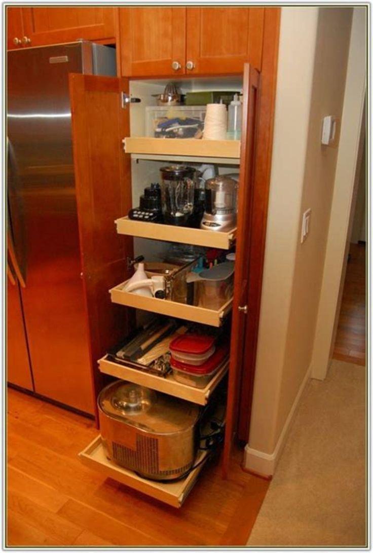 40 DIY Ideas Kitchen Cabinet Organizers 25 #cabinetorganizers