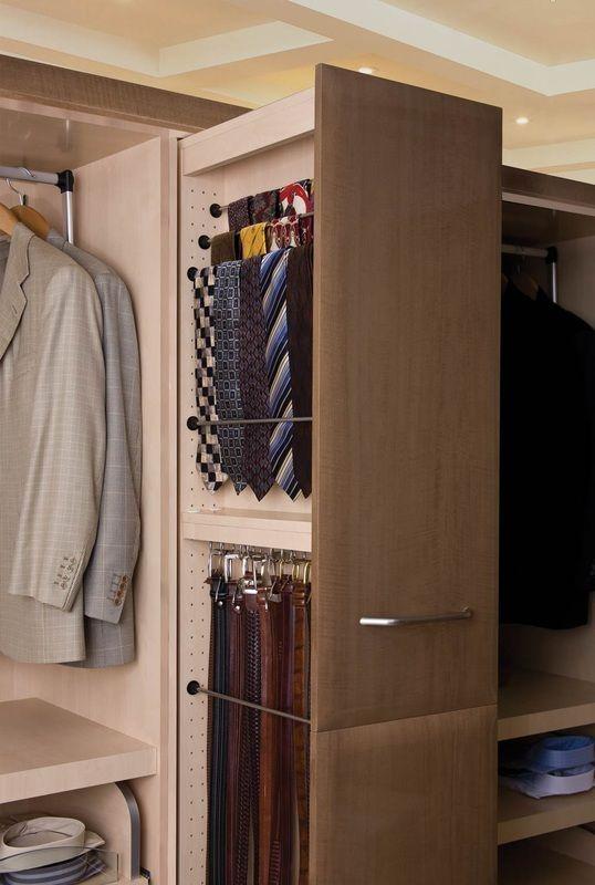 Cool Ways To Organize Men Accessories At Home Small Closet Design Closet Design Bedroom Organization Closet