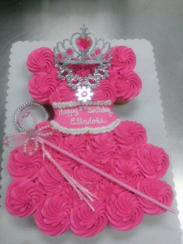 Miraculous 24Count Cupcake Cake Princess Cupcake Dress Cupcake Cakes Funny Birthday Cards Online Inifodamsfinfo