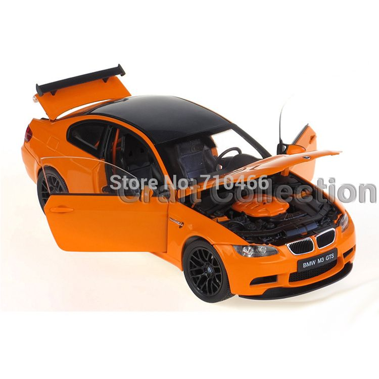 118 Scale Car Model of BMW M3 GTS Coupe Sport Car  Diecast