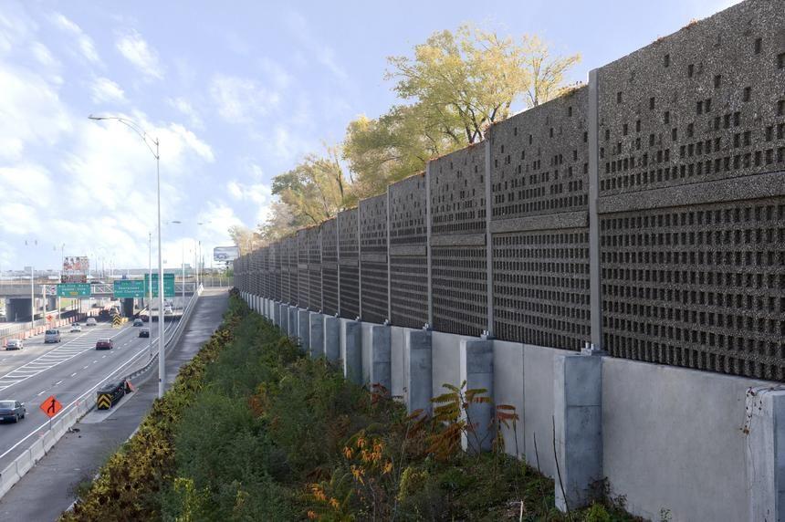 Noise Barrier Sound Absorptive Precast Concrete Noise Barrier Noise Barrier Sound Barrier Wall Precast Concrete