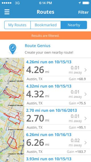 Top Free iPhone App 125 Run with Map My Run GPS