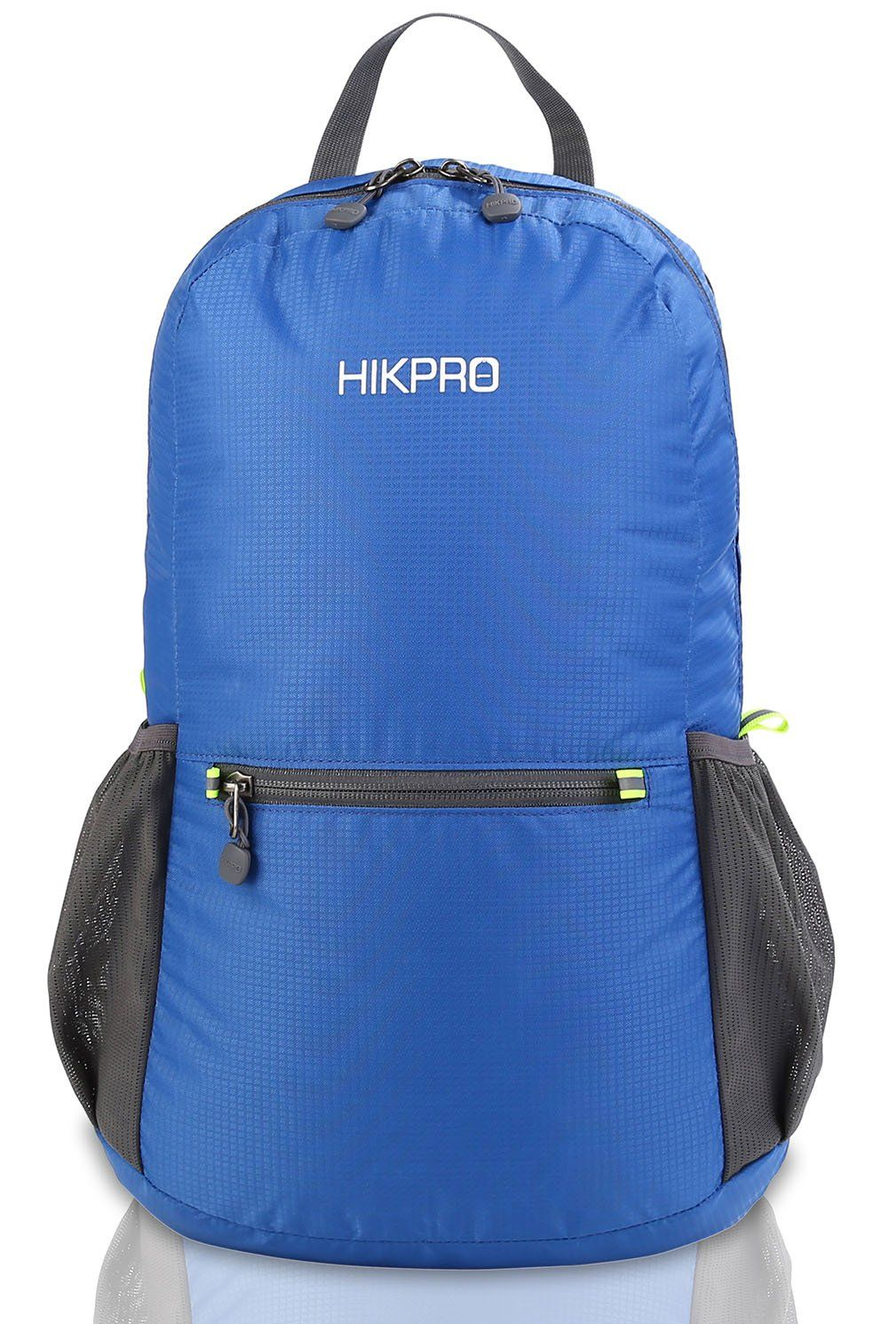 39646182ec9c Hikpro 20L The Most Durable Lightweight Packable Backpack Water Resistant Travel  Hiking Daypack For Men