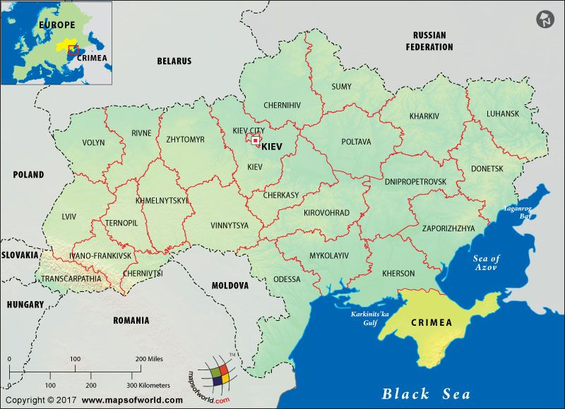 Where is Crimea, and is it a country | maps | Sea of azov ...