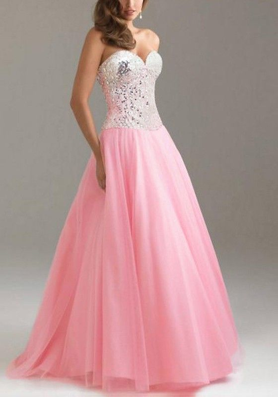 Rosa silber pailletten plissee unregelm ige elegantes maxikleid sch ne abendkleider lang - Plissee kleid lang ...