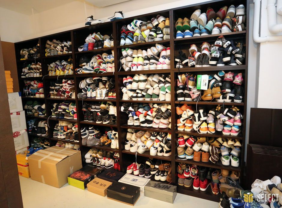 Joe Hadens Sneaker Collection J