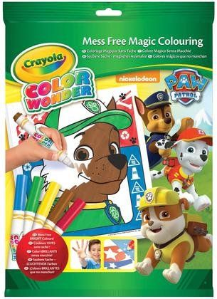 Crayola Paw Patrol Color Wonder Mess Free Coloring Pad and Markers ...
