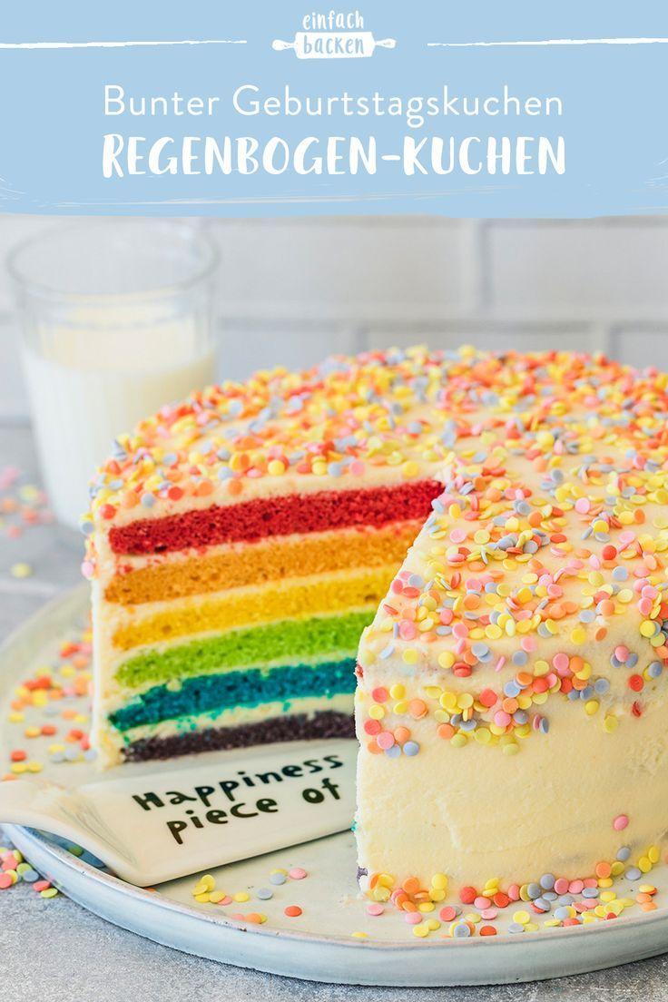 Photo of Regenbogenkuchen – einfach selbermachen | Die besten Backrezepte mit Gelinggarantie