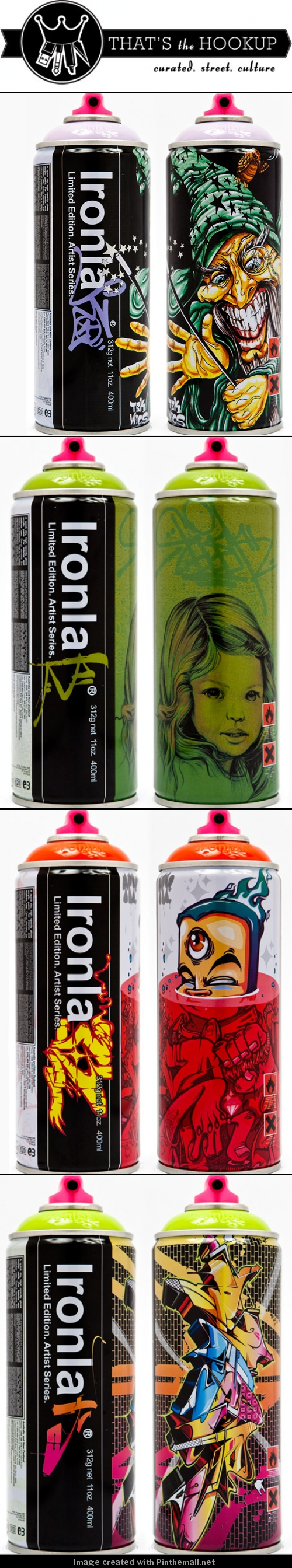 For you @João Fernandes Ironlak's Limited Edition Spray Paint Cans & Colors. Awesome illustrated #packaging #designs PD - created via http://thatsthehookup.com/graffiti/new-for-2010-ironlaks-limited-edition-spray-paint-cans-colors/