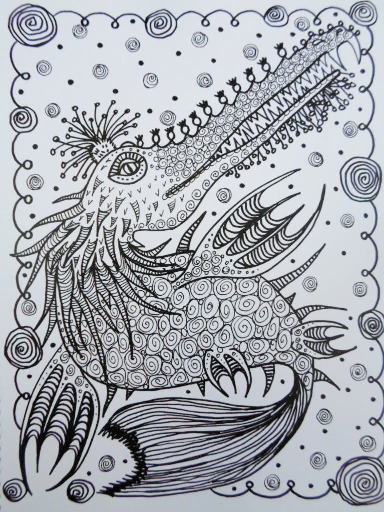COLORING BOOK Sea MoNsTerS Coloring Book You be от ChubbyMermaid ...