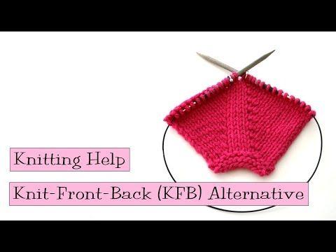 Knit Front Back Kfb Alternative V E R Y P I N K C O M