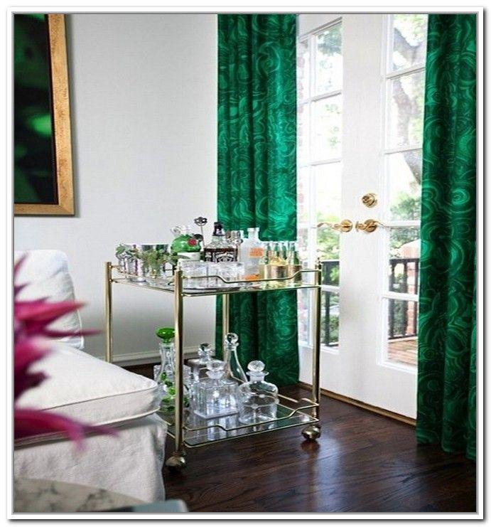 Sheer Emerald Green Curtains