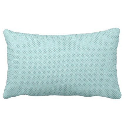 Lumber Cushion - Teal Geometric Pattern - baby gifts child new born gift idea diy cyo special unique design