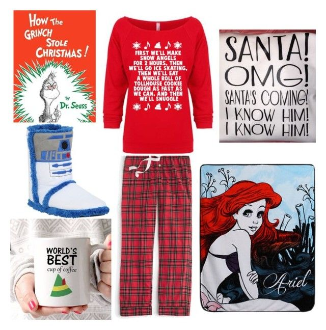 """Christmas ^.^"" by punk101love ❤ liked on Polyvore featuring J.Crew, Disney and R2"