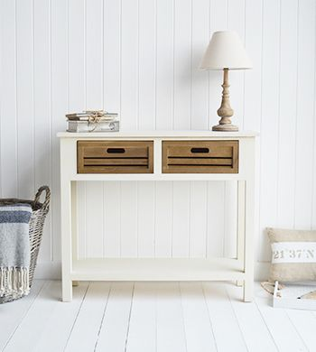 Norfolk Cream Console Table For Hall Furniture