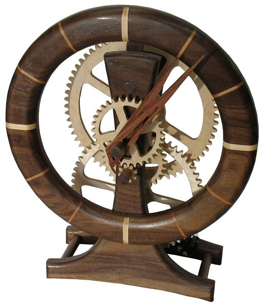 wooden clock | clock assembly clock face grooves cutting ...