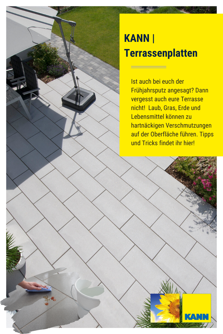 Kann Terrassenplatten In 2020 Terrassenplatten Terrasse Terrassenplatten Reinigen