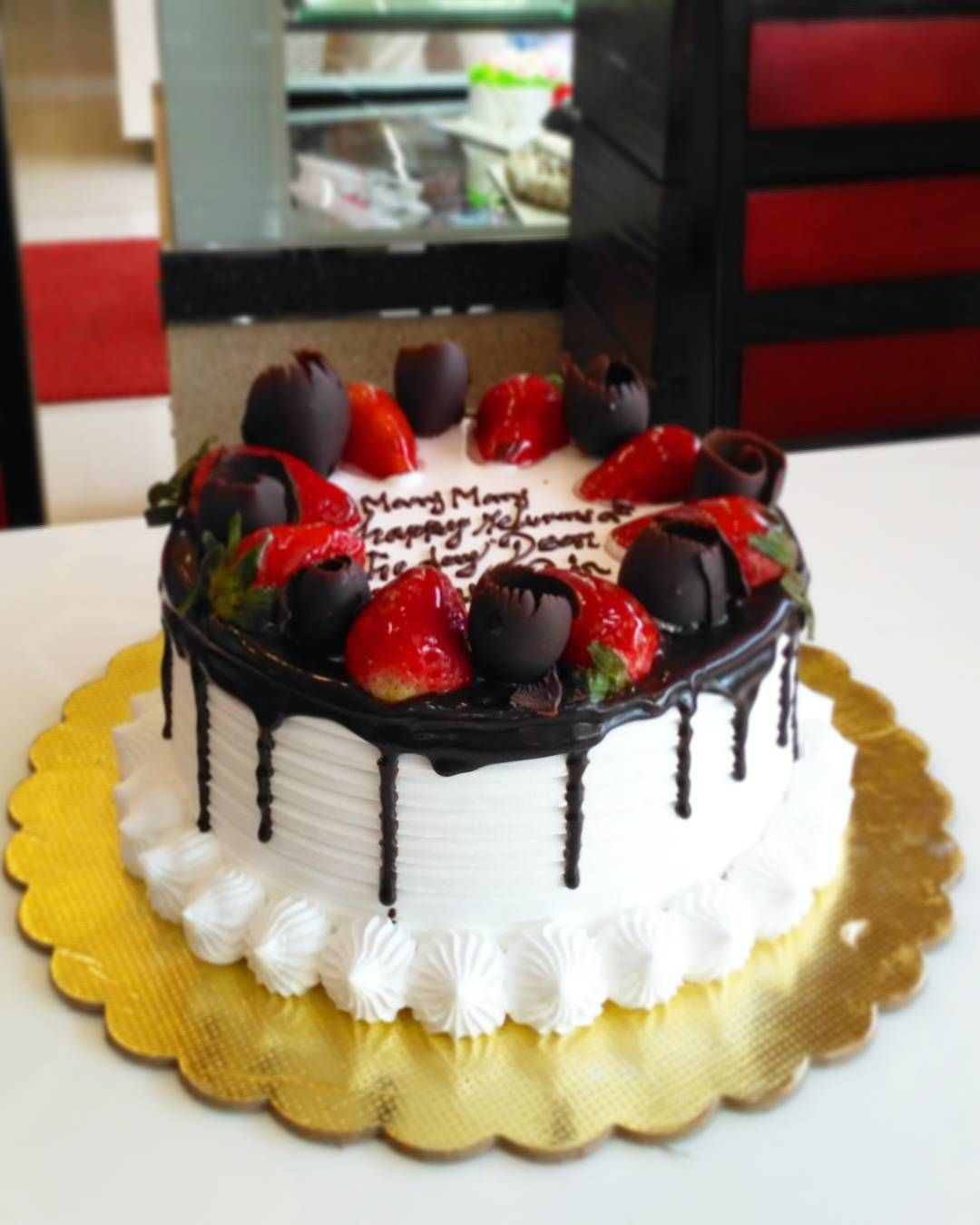 Many many happy returns of the day Dear Rahul Sir! | CAKES by Chef