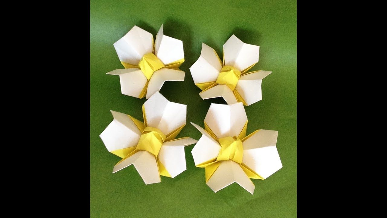 Origami Flower Blooming Origami Flowers