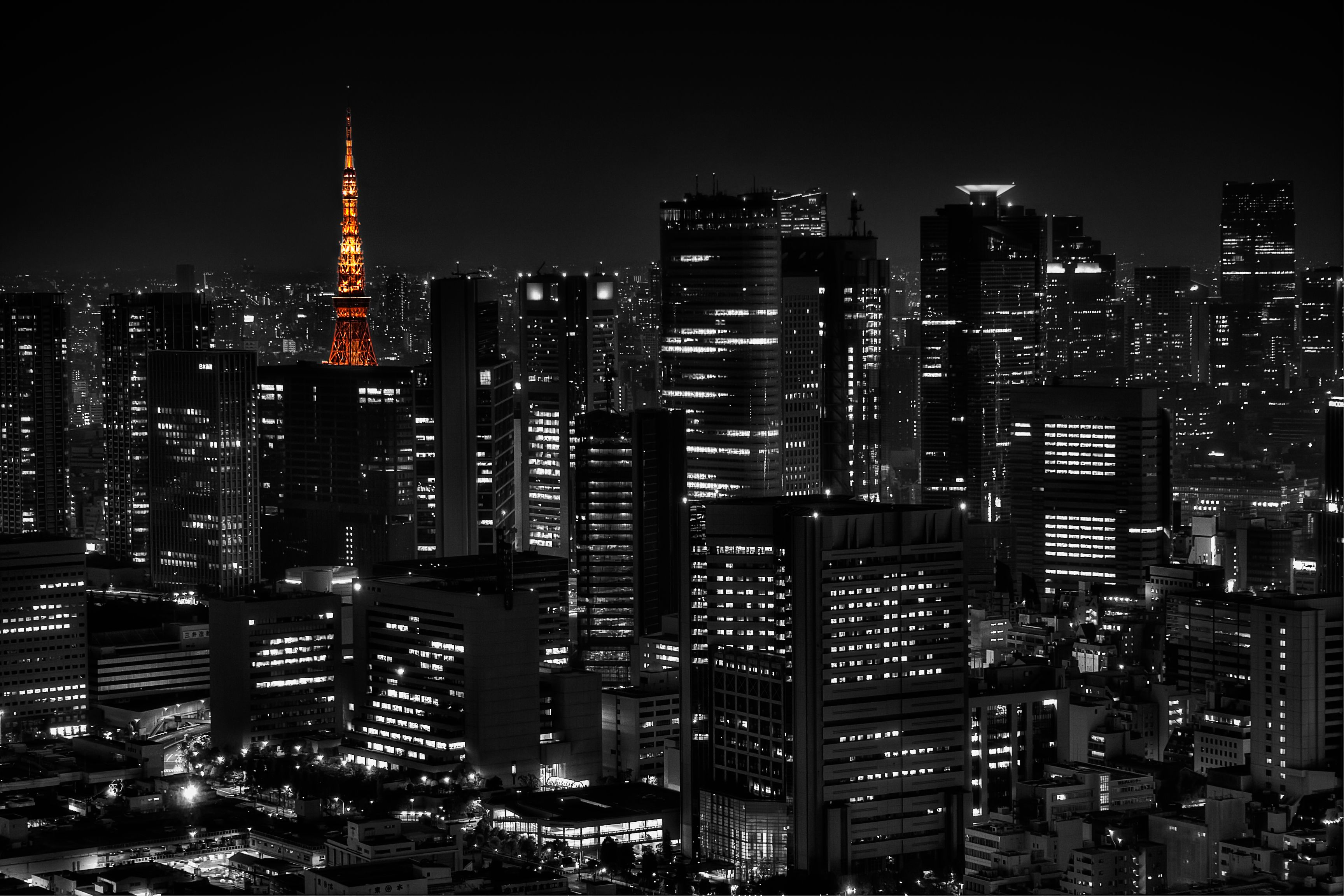 Tokyo Wallpapers Black And White Picture Landscape Wallpaper Black And White Pictures Tokyo Ghoul Wallpapers